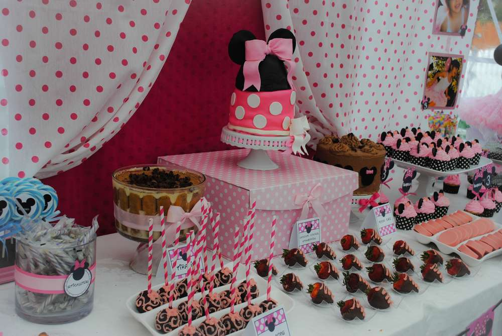3rd birthday party ideas for girl pink minnie mouse 3rd birthday party ideas photo of 21 catch my
