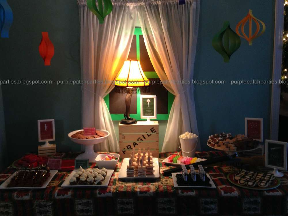 A Christmas Story Christmasholiday Party Ideas Photo 1 Of 16