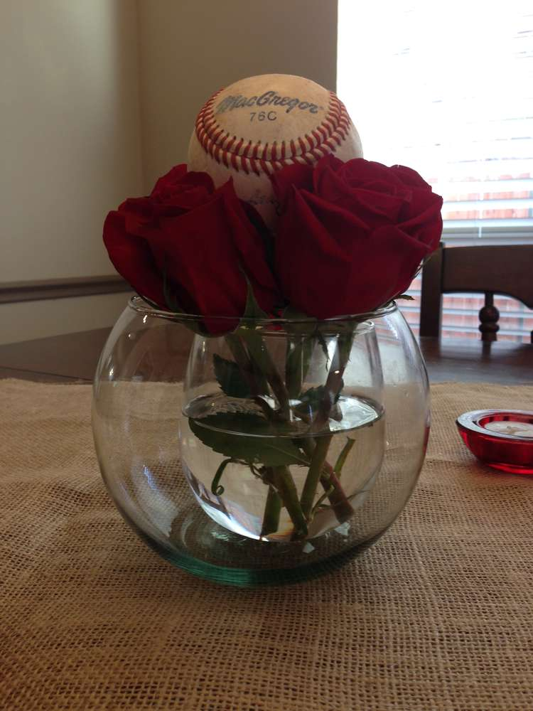 vintage baseball baby shower party ideas photo 8 of 14 catch my
