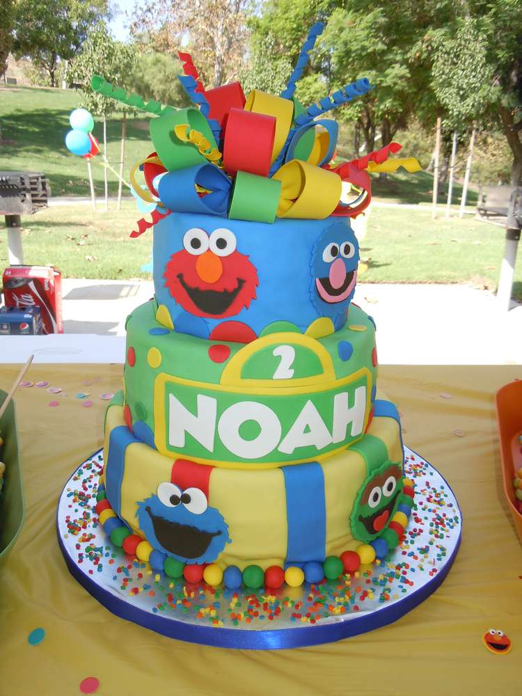 Sesame Street Birthday Party Ideas Photo 2 Of 18 Catch