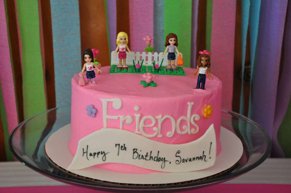 Lego Friends Birthday Party Ideas | Photo 1 of 17 | Catch ...