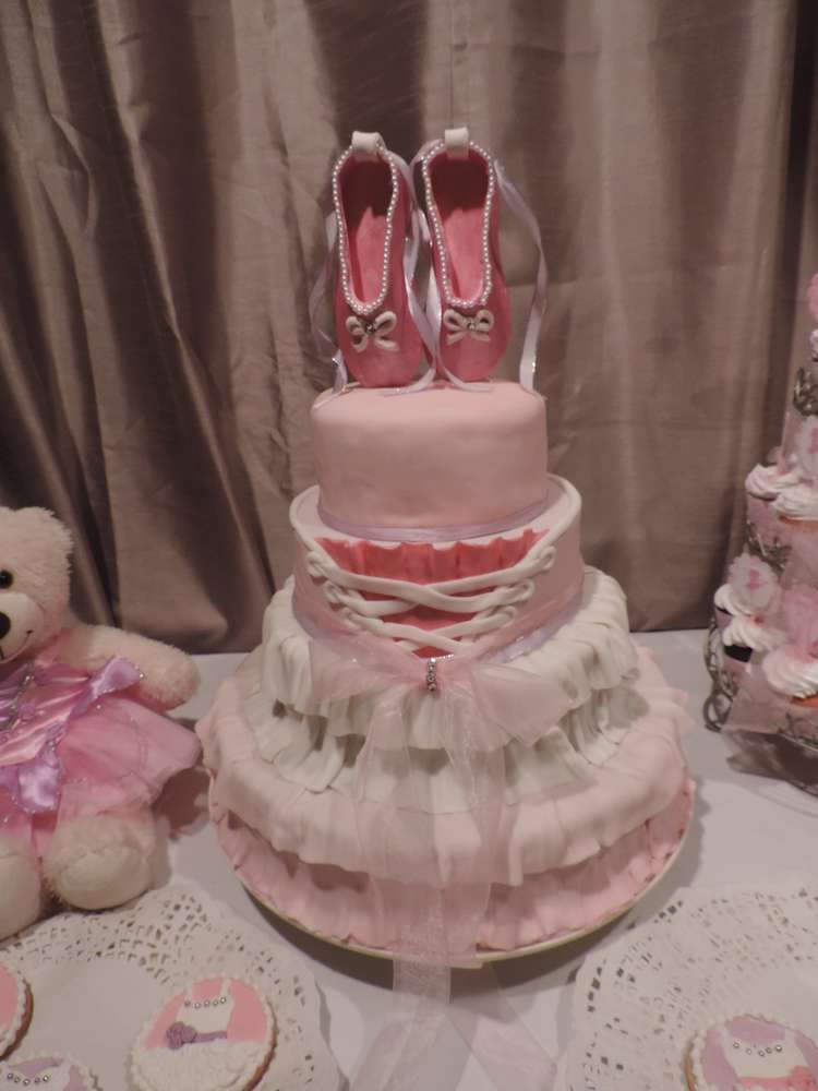 ballerina baby shower party ideas photo 4 of 10 catch my party