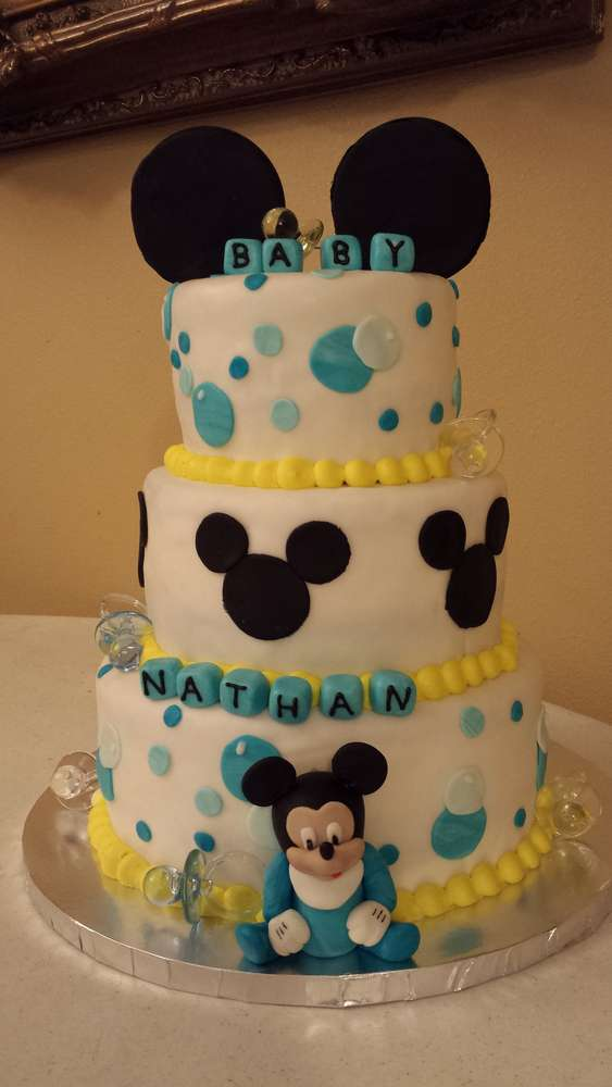 Baby Mickey Mouse Baby Shower Party Ideas Photo 1 Of 5