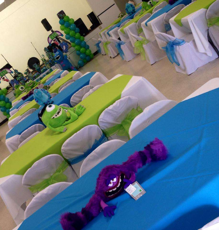 Monster\'s Inc Birthday Party Ideas | Photo 5 of 17 | Catch My Party