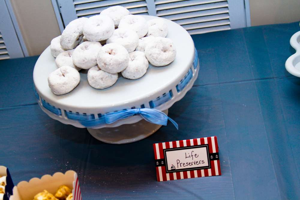 nautical baby shower party ideas photo 18 of 19 catch my party