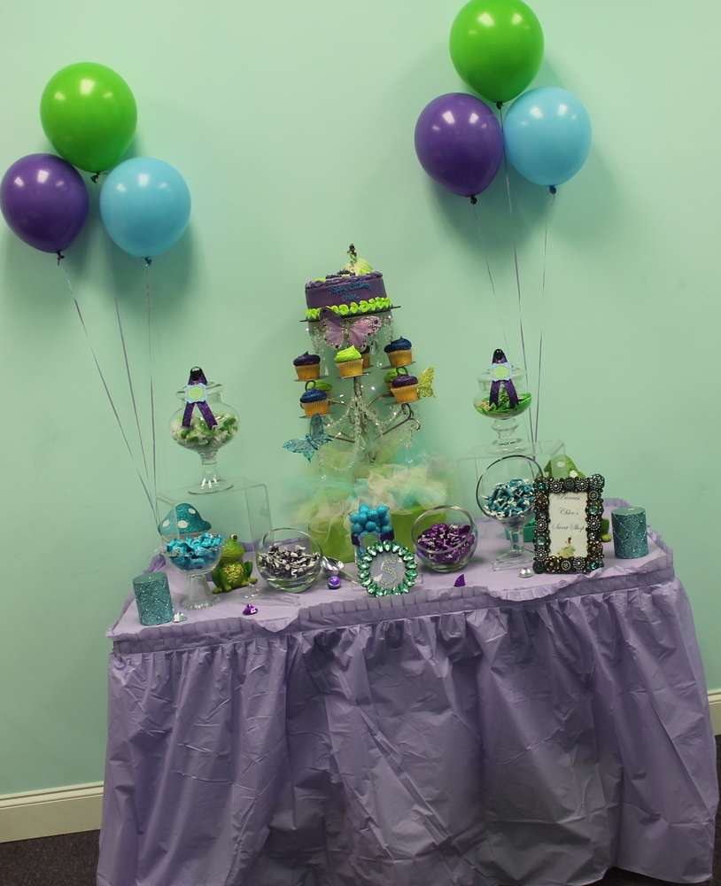 Princess Tiana And The Frog Birthday Party Ideas Photo 1