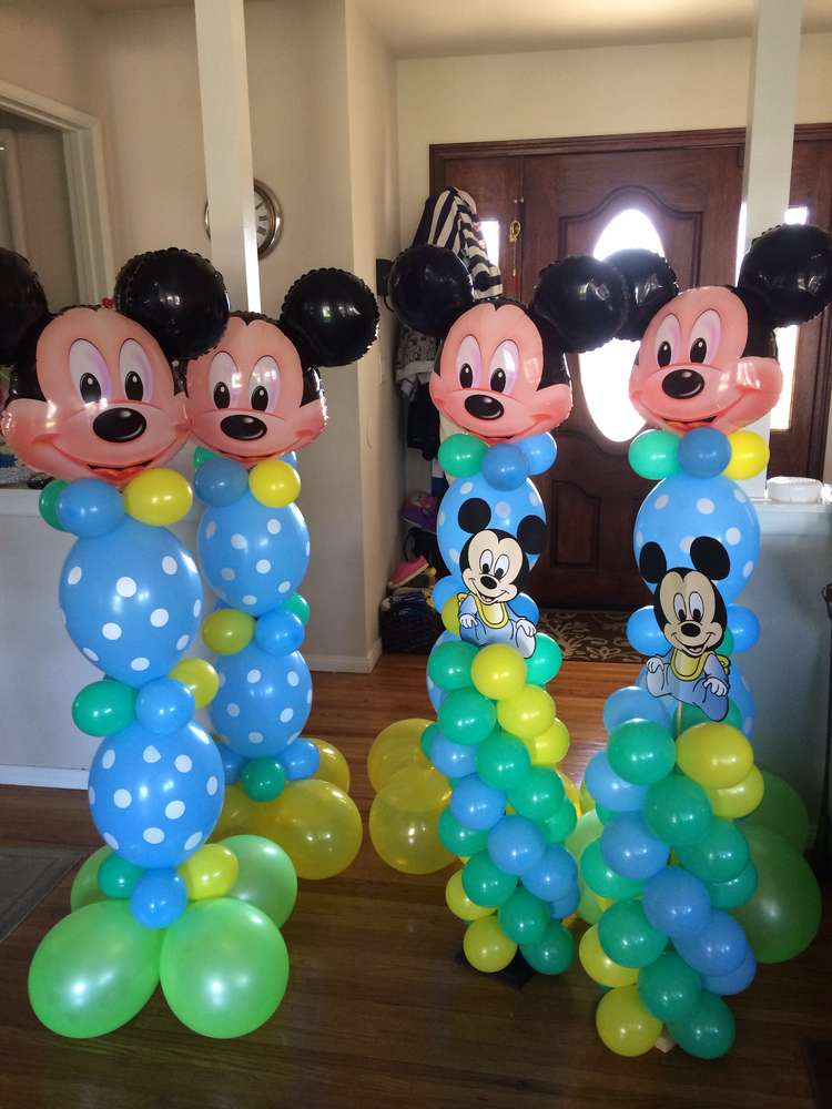 Baby Mickey Mouse Birthday Party Ideas 1st Birthday  www.imgarcade ...