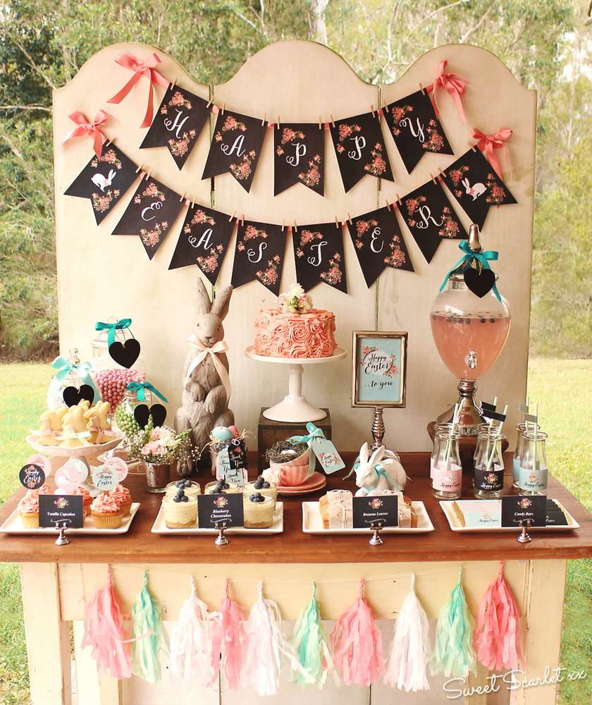 Rustic Easter Easter Party Ideas