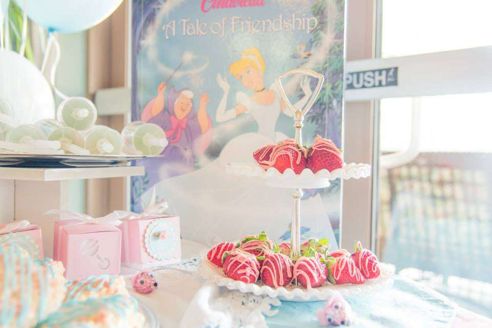 cinderella baby shower party ideas photo 1 of 18 catch my party