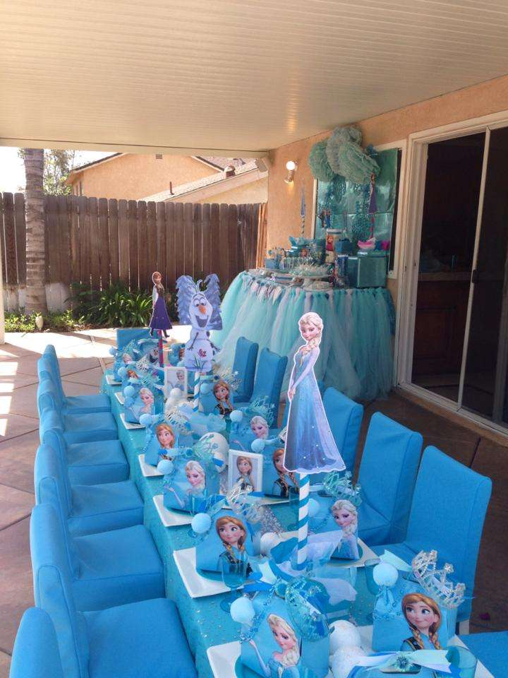 Disney Frozen Birthday Party Ideas Photo 9 Of 10 Catch
