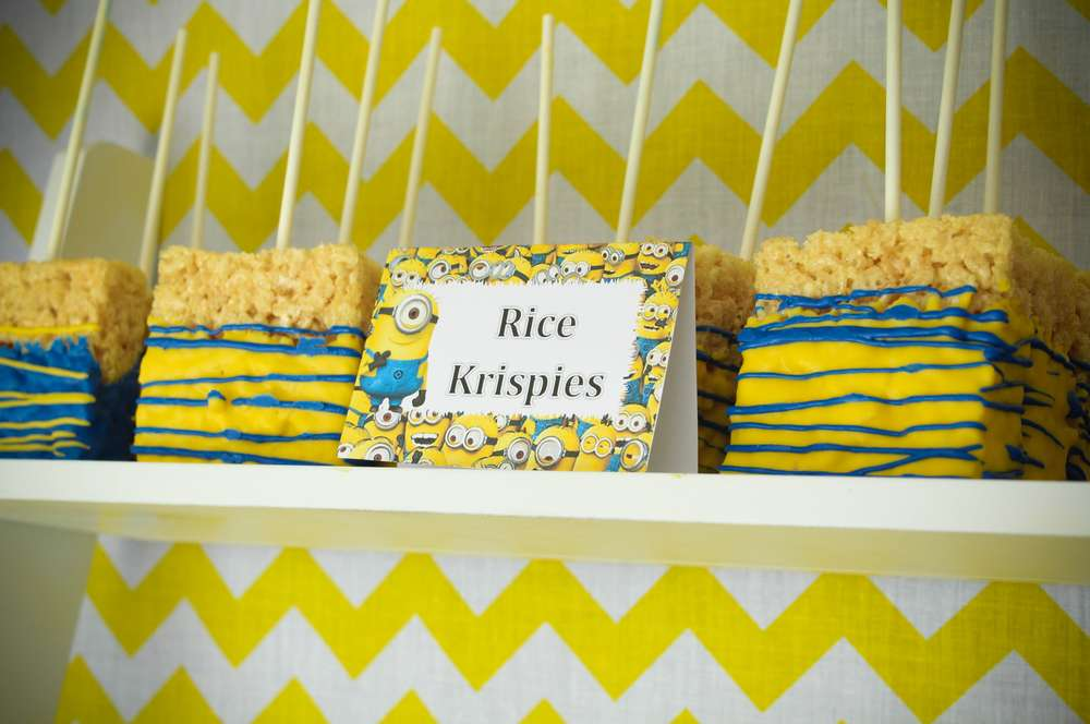 Minions Birthday Party Ideas