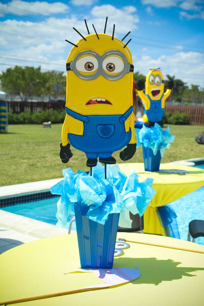 Despicable Damians 5th Birthday Party