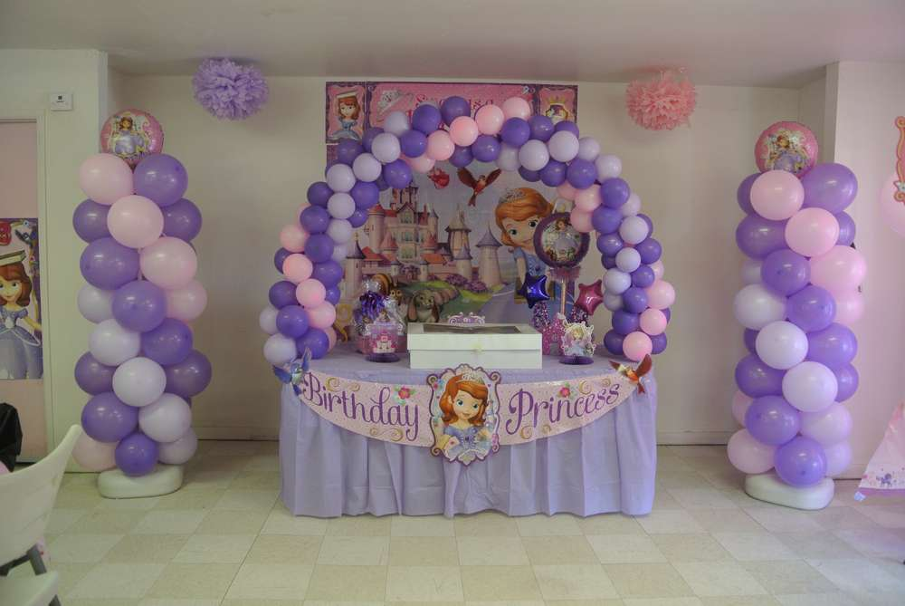 sofia the first birthday party ideas photo 1 of 19 catch my party