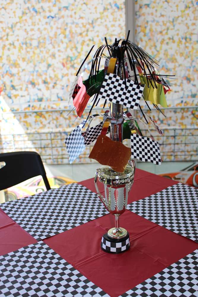 Nascar race car birthday party ideas photo 4 of 17 catch my party ryans nascar two lladega 2nd birthday filmwisefo Choice Image
