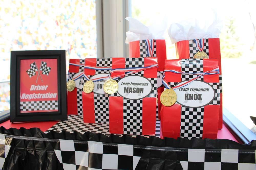 Nascar race car birthday party ideas photo 4 of 17 catch my party filmwisefo Choice Image