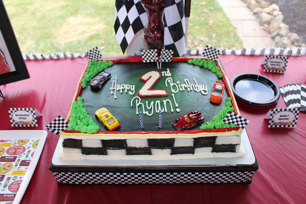 Nascar race car birthday party ideas photo 4 of 17 catch my party previous filmwisefo Choice Image