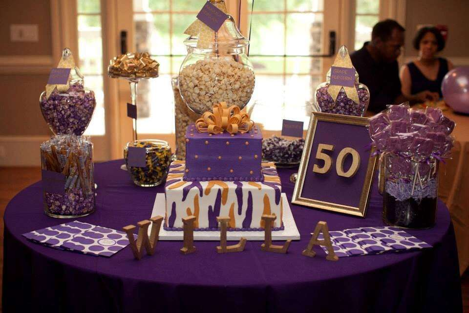 50th Birthday Party Ideas For Mom Inspirational 40th Diy Gift Moms Purple And Gold