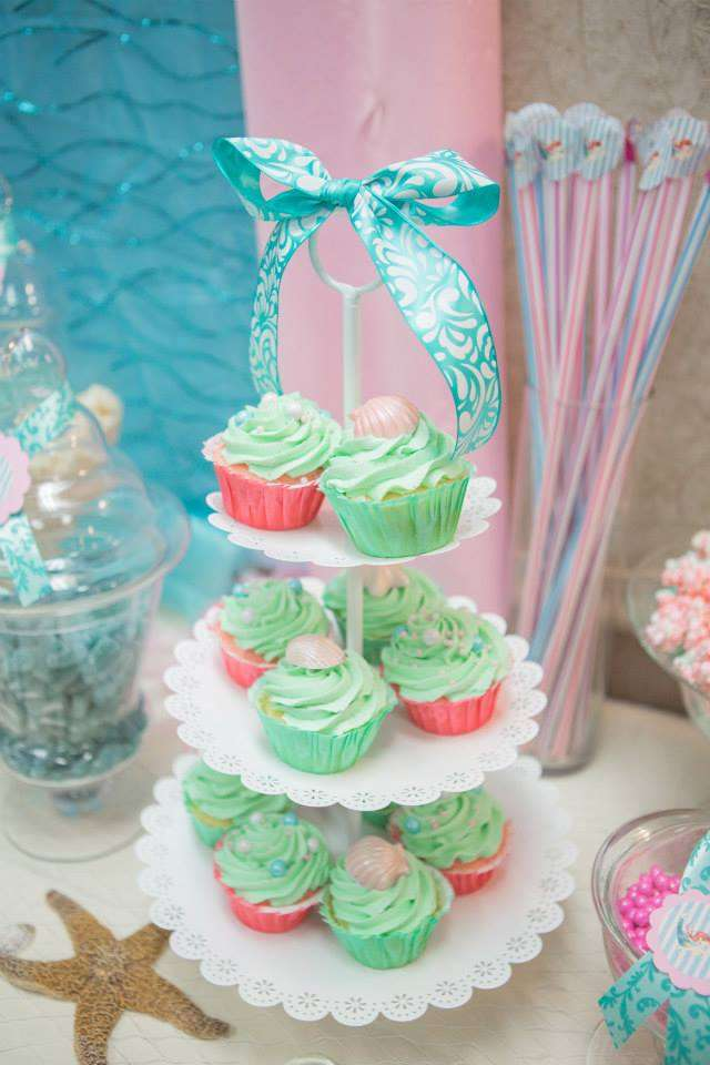 little mermaid baby shower ideas quotes