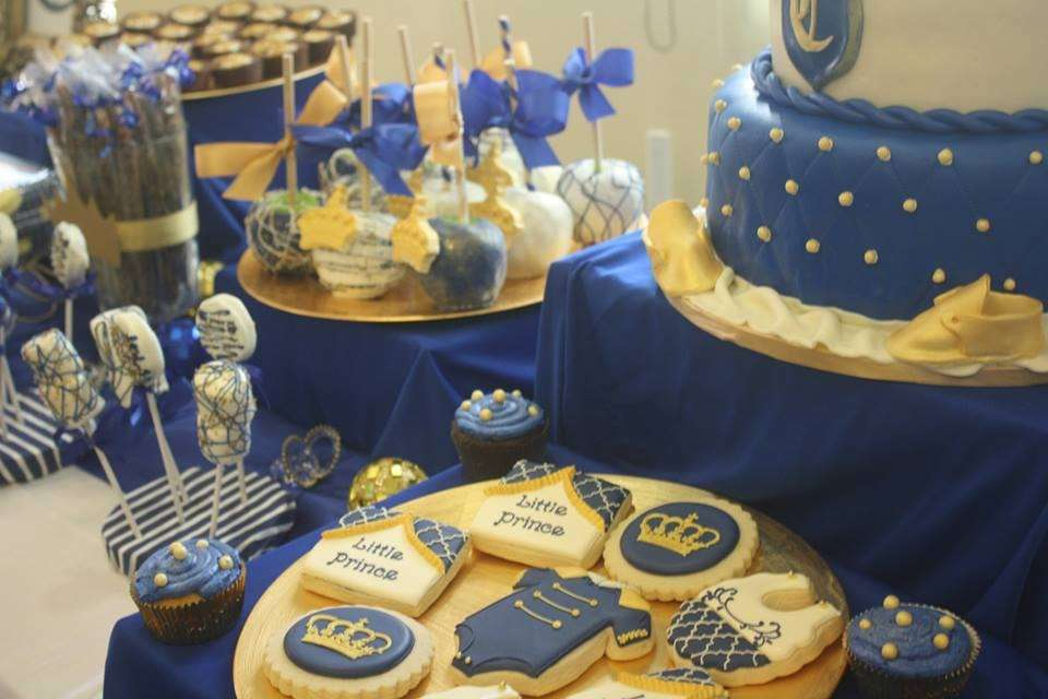 Royal Prince Baby Shower Party Ideas Photo 7 Of 12