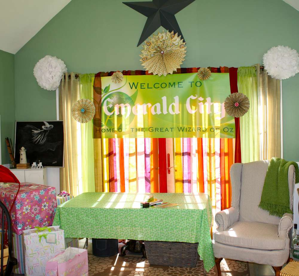 the wizard of oz baby shower party ideas | photo 9 of 22 | catch my