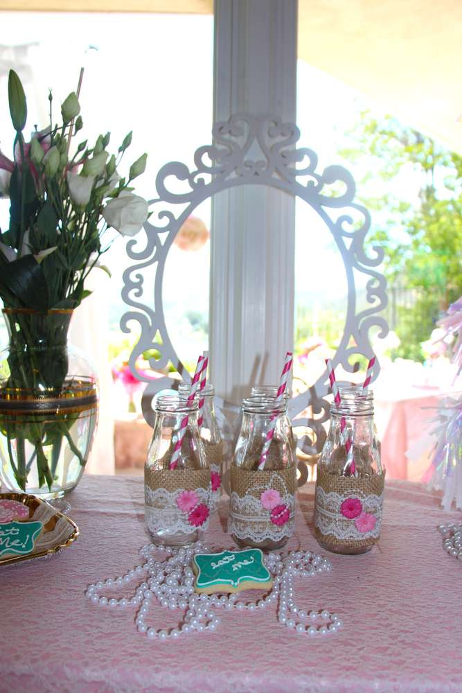 Vintage Shabby Chic Birthday Party Ideas Photo 11 Of 38 Catch My