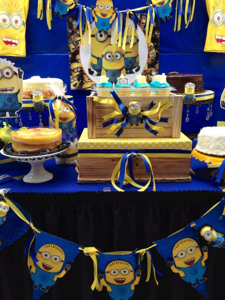 Minions Baby Shower Party Ideas Photo 5 Of 12 Catch My Party