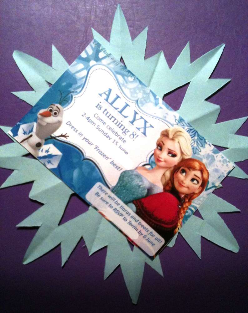 Disney Frozen Birthday Party Ideas | Photo 3 of 19 | Catch My Party