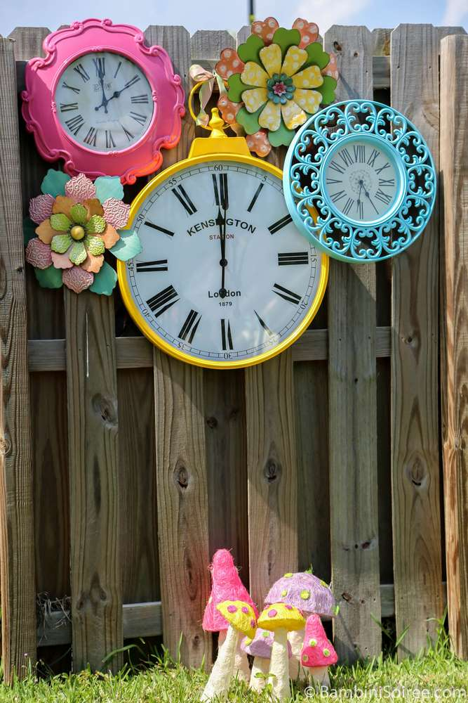 Alice in wonderland birthday party ideas photo 1 of 10 - Alice in wonderland outdoor decorations ...