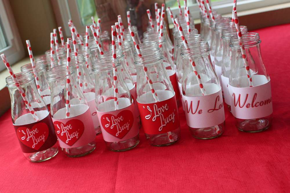 I Love Lucy! Baby Shower Party Ideas | Photo 9 of 16 | Catch My Party