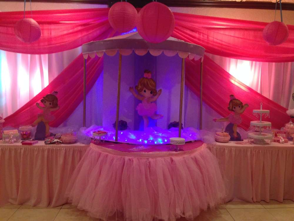 Ballerina Baby Shower Party Ideas Photo 3 Of 24 Catch My Party