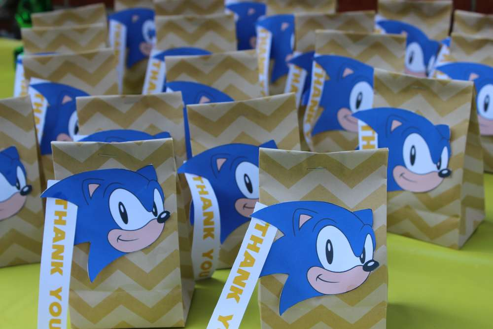 Sonic The Hedgehog Birthday Party Ideas Photo 5 Of 24 Catch My Party