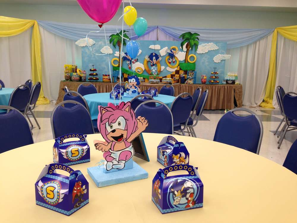 Sonic The Hedgehog Birthday Party Ideas Photo 8 Of 24