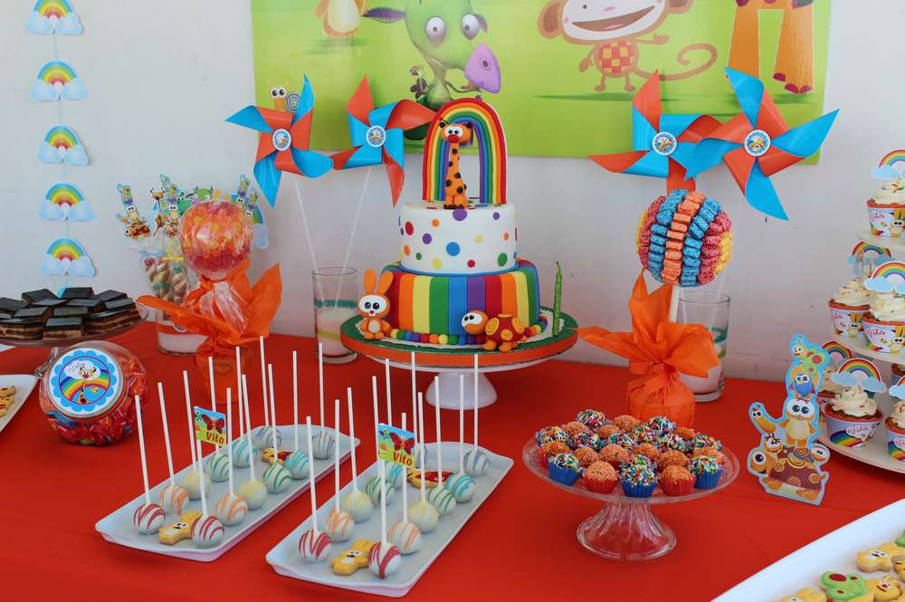 Baby Tv Birthday Party Ideas Photo 1 Of 13 Catch My Party