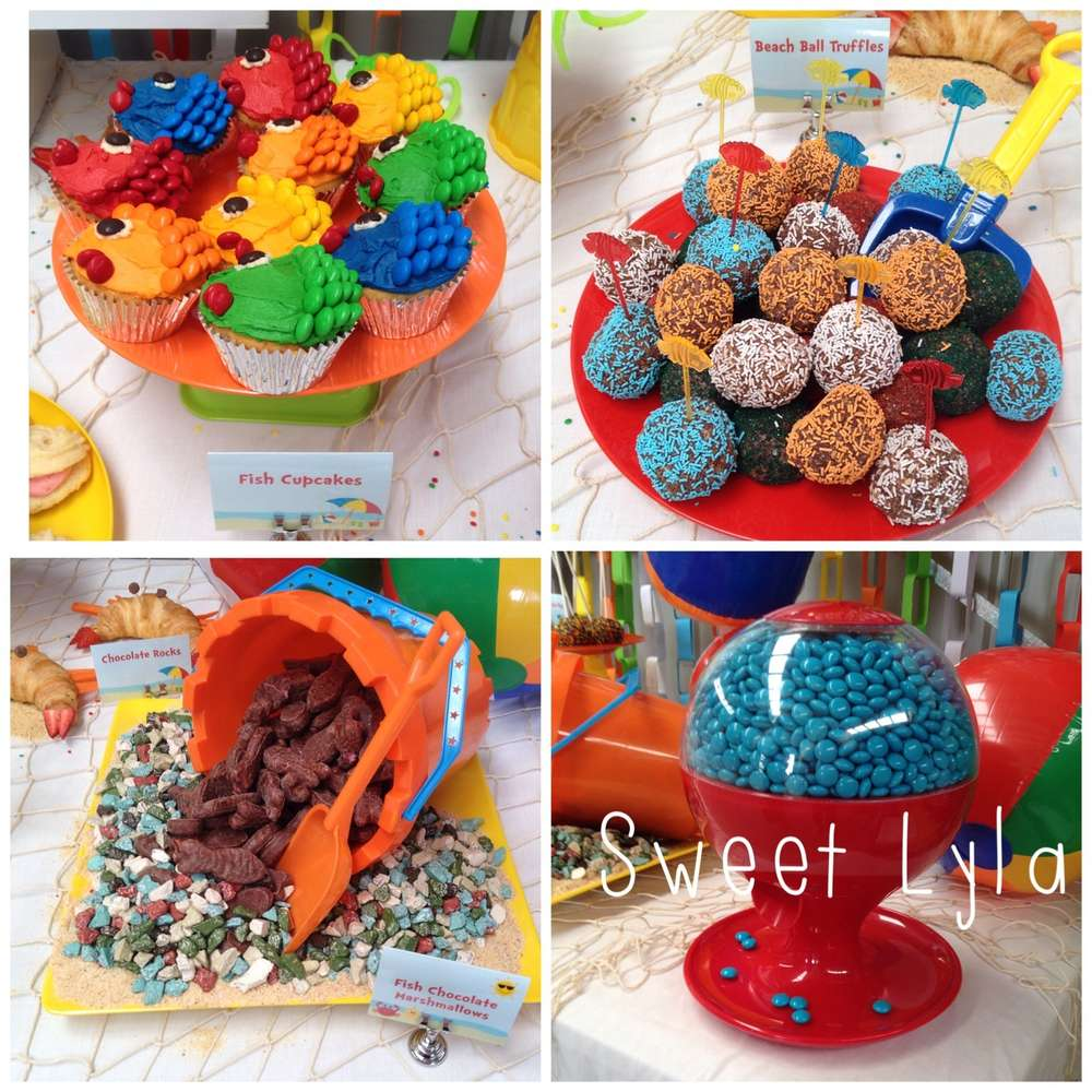 Beach Theme Birthday Party Ideas | Photo 5 of 10 | Catch My Party