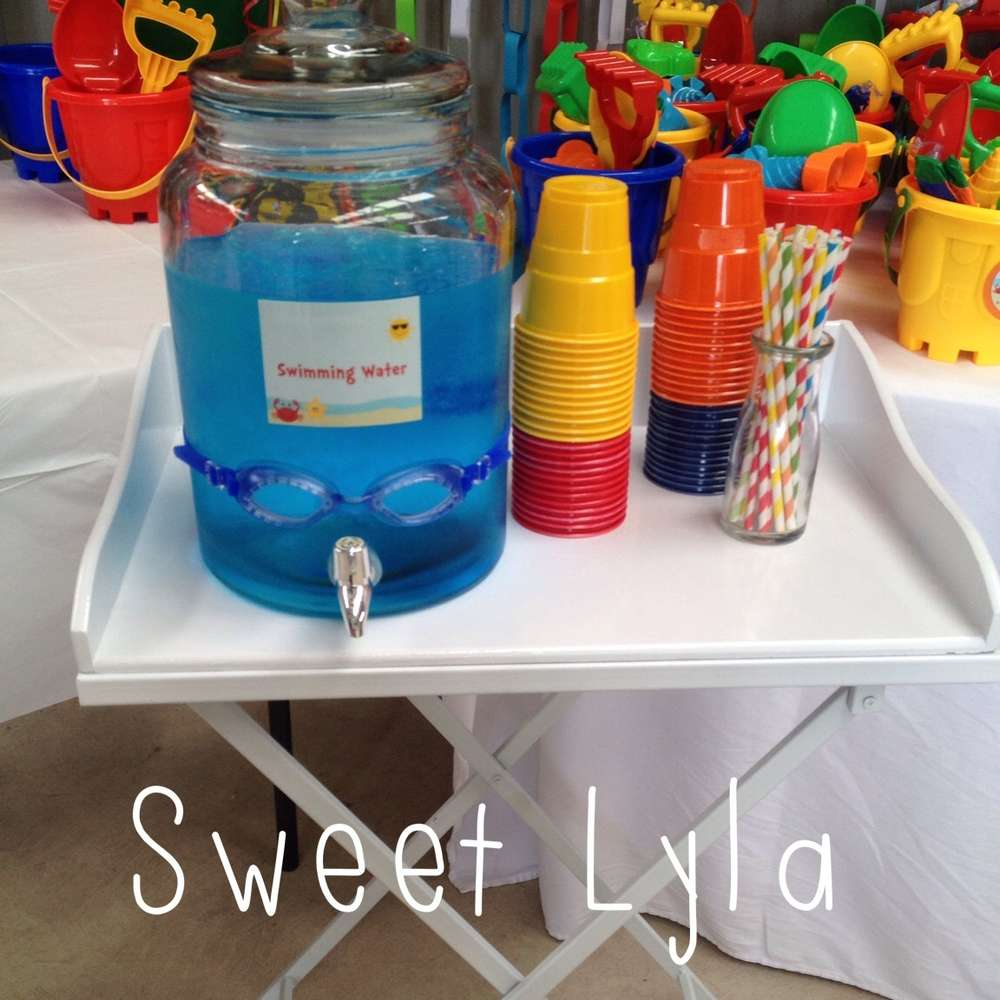 beach theme birthday party ideas photo 7 of 10 catch my party