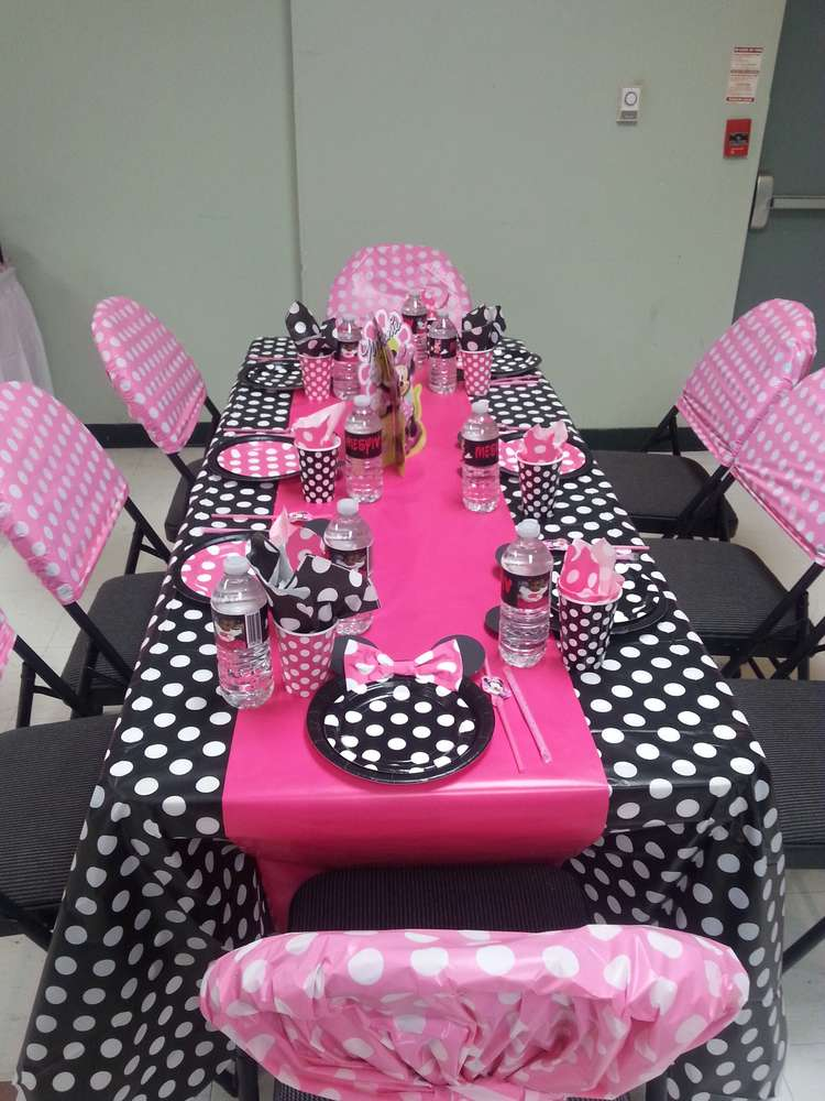 Mickey Mouse Minnie Mouse Birthday Party Ideas Photo 4