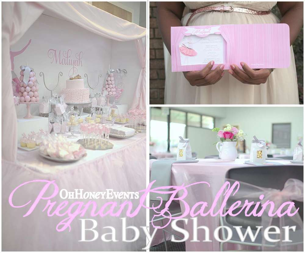 ballerina baby shower party ideas photo 4 of 35 catch my party