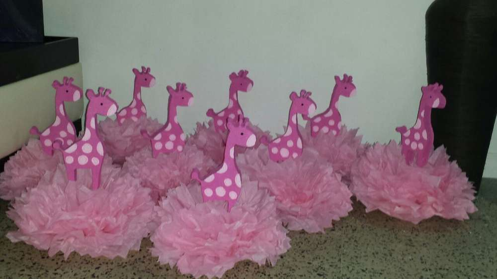 Pink Safari Baby Shower