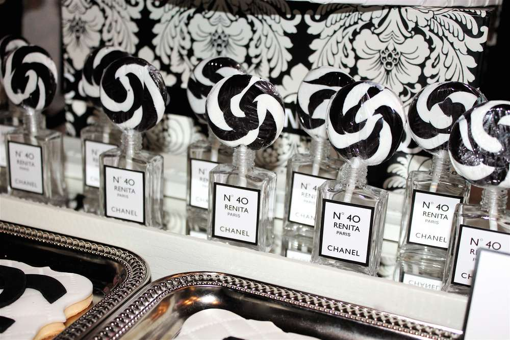 Coco Chanel Birthday Party Ideas | Photo 6 of 18 | Catch ...