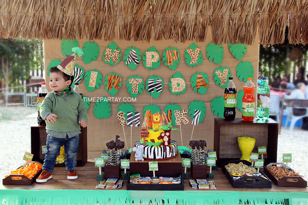 Jungle Birthday Party Ideas | Photo 3 of 45 | Catch My Party