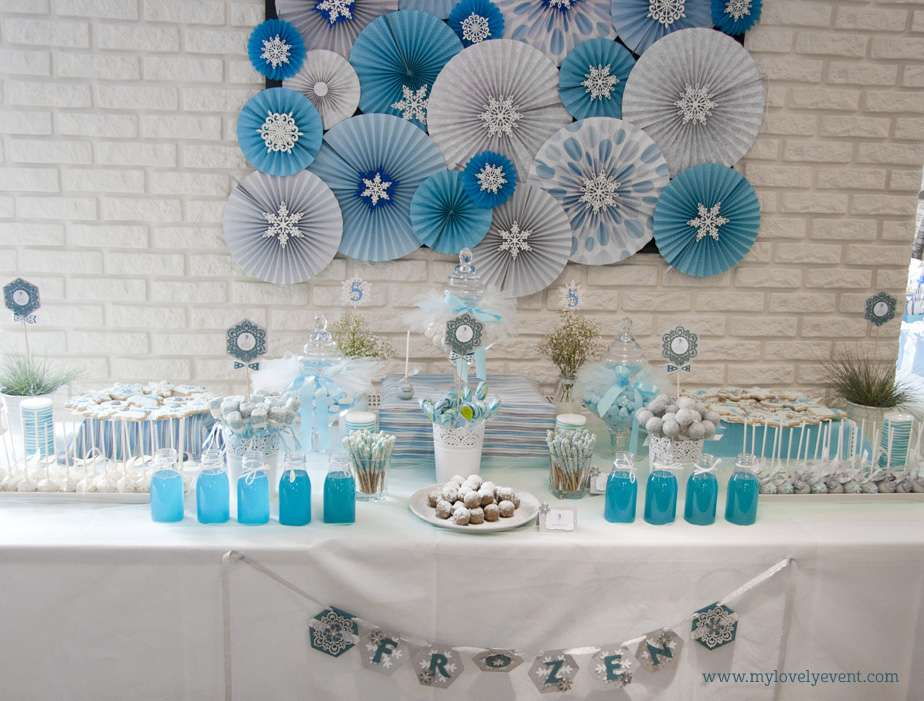 Frozen Birthday Party Ideas Photo 1 Of 12 Catch My Party