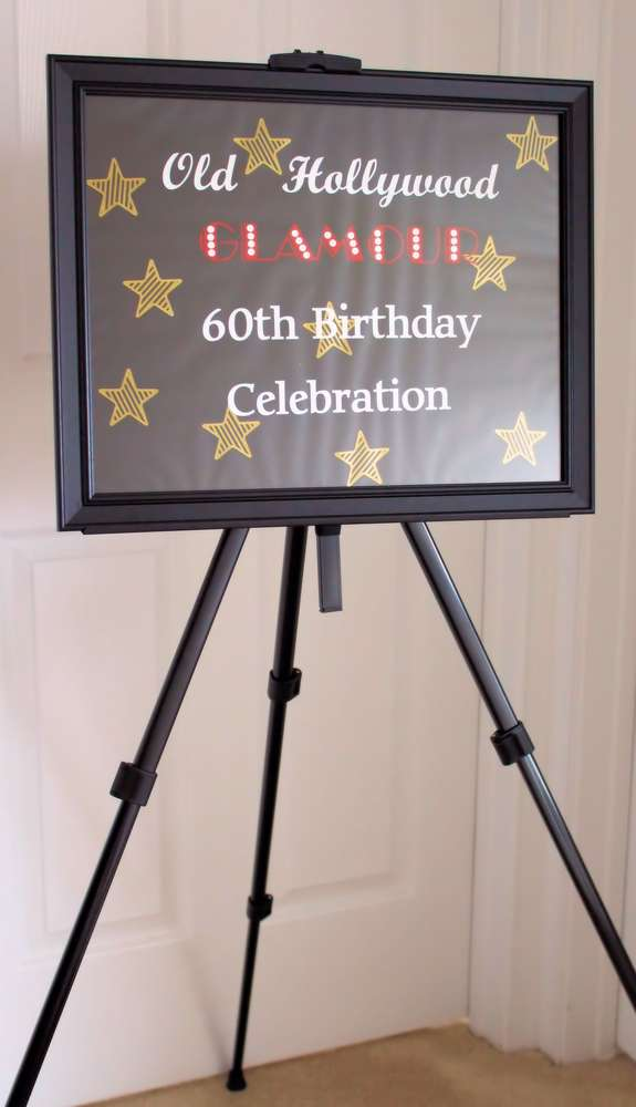 Old Hollywood Glamour Birthday Party Ideas Photo 1 Of 41 Catch