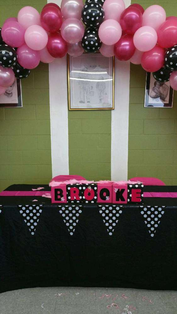 pink panther baby shower party ideas