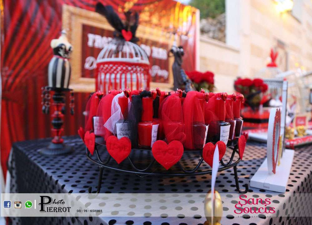 Moulin Rouge Bachelorette Party Ideas | Photo 3 of 26 | Catch My Party
