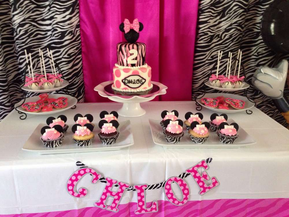 Chloes 2nd Birthday Party With Minnie Mouse