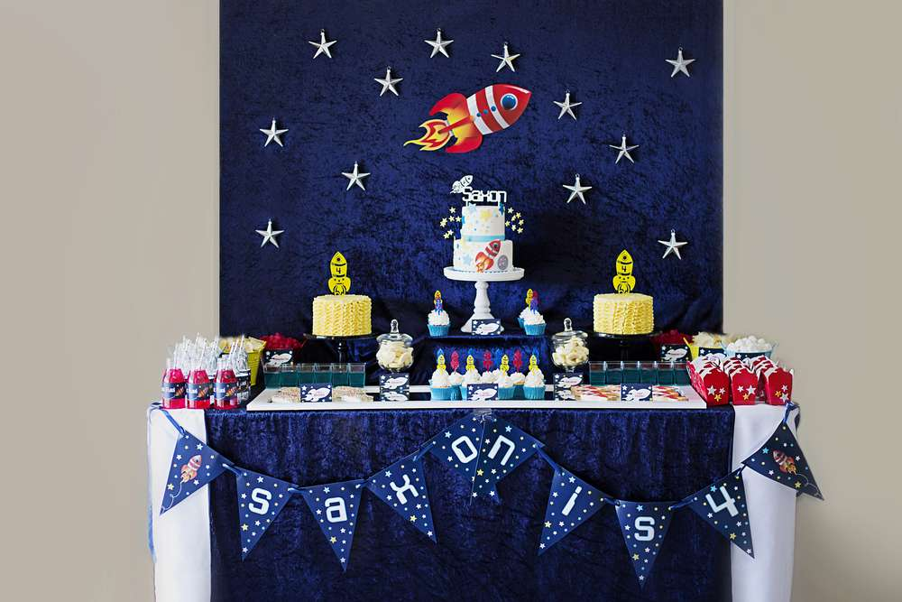 Rockets Outer Space Birthday Party Ideas