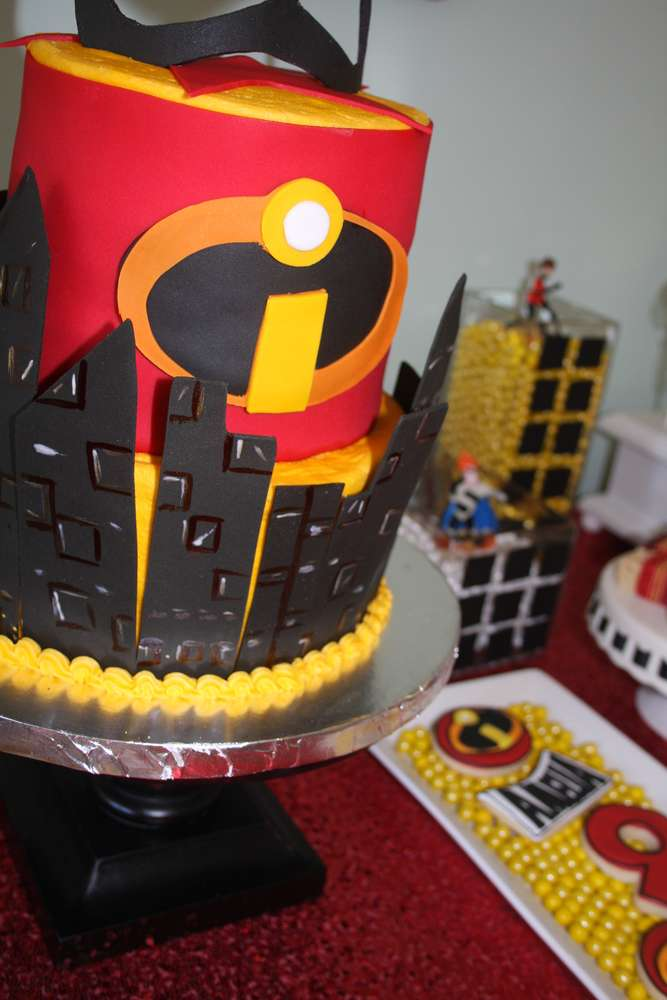 Incredibles Birthday Party Ideas Photo 5 Of 53 Catch