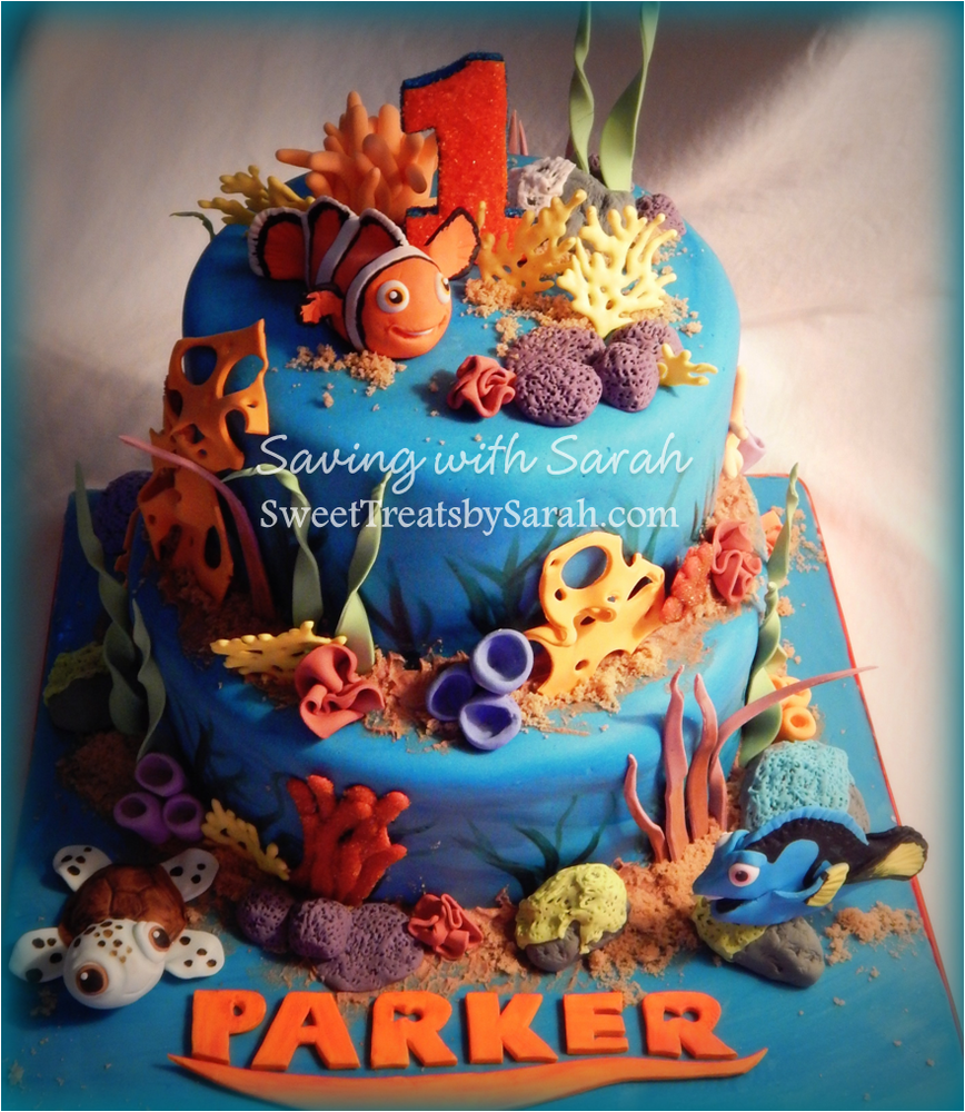 Finding Nemo Birthday Party & Finding Nemo Birthday Party Ideas | Photo 1 of 6 | Catch My Party
