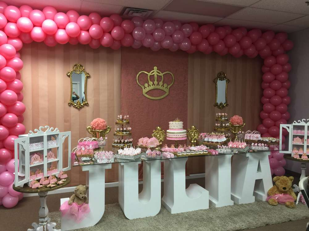 princess birthday party ideas photo 5 of 26 catch my party. Black Bedroom Furniture Sets. Home Design Ideas