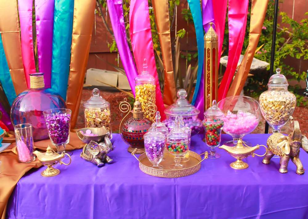 Arabian/Aladdin Theme Birthday Party Ideas | Photo 5 of 12 ...
